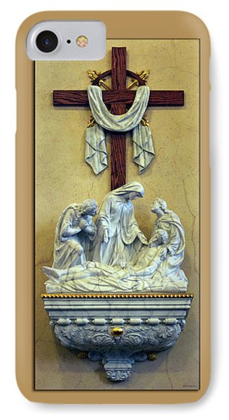 Station Of The Cross 13 Phone Case by Thomas Woolworth