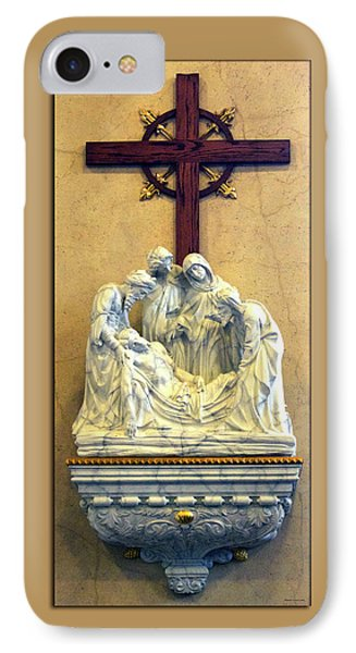 Station Of The Cross 14 Phone Case by Thomas Woolworth
