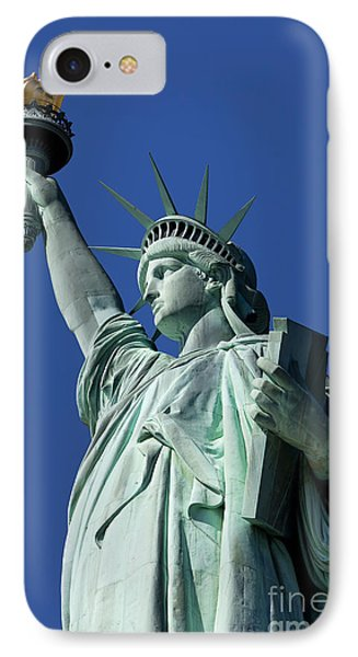 Statue Of Liberty Phone Case by Brian Jannsen