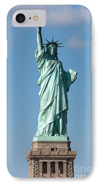 Statue Of Liberty Iv Phone Case by Clarence Holmes