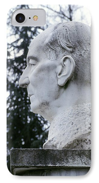 Statue Of Marconi IPhone Case by Sheila Terry