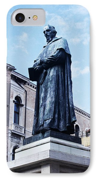 Statue Of Paolo Sarpi, Venetian Scientist IPhone Case