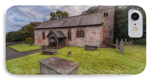 St.dyfnog's Church IPhone Case by Adrian Evans