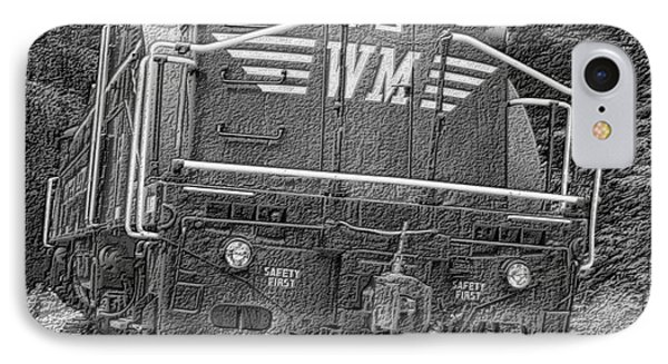 Steam Engine Eighty Two Phone Case by Denise Jenks