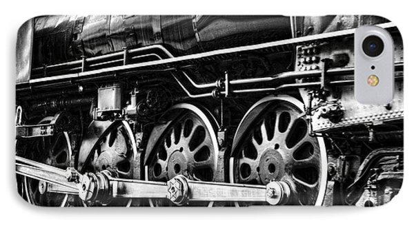 Steam Train No 844 - IIi Phone Case by Donna Greene