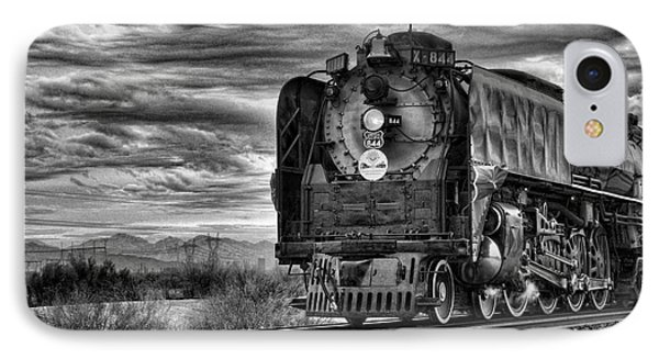 Steam Train No 844 - Iv IPhone Case by Donna Greene