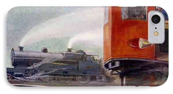 Steam Trains Versus Electric Phone Case by Mary Evans and Photo Researchers