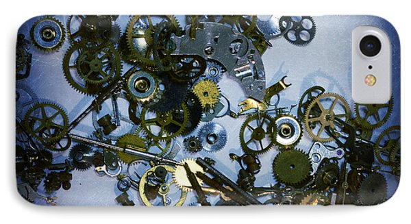 Steampunk Gears - Time Destroyed IPhone Case