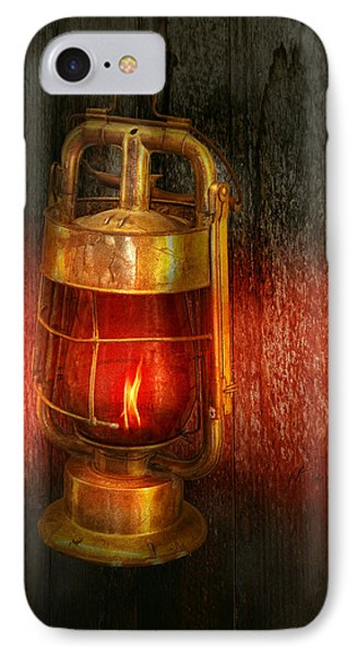 Steampunk - Red Light District Phone Case by Mike Savad