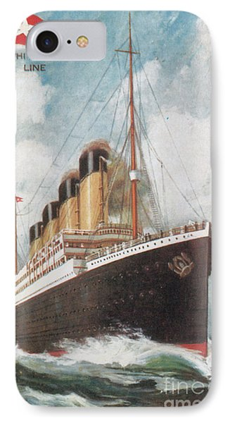 Steamship Titanic Phone Case by Photo Researchers