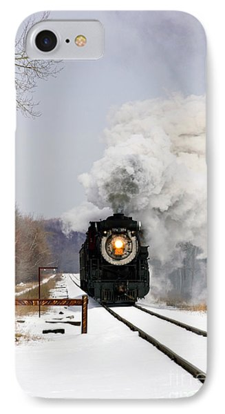 Steamtown Excursion Train Phone Case by Michael P Gadomski and Photo Researchers