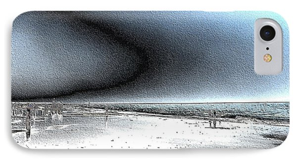Steel Beach IPhone Case by Dana Patterson