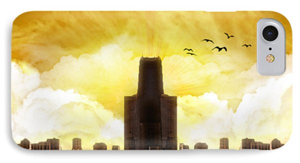 Steel City Dawn IPhone Case