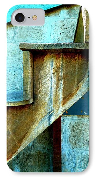 IPhone Case featuring the photograph Stepping Up To The Blues by Newel Hunter