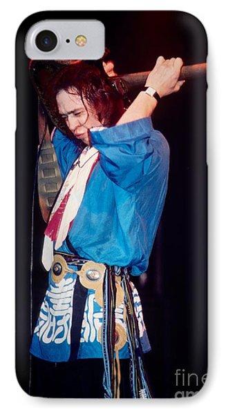 Stevie Ray Vaughn Phone Case by David Plastik