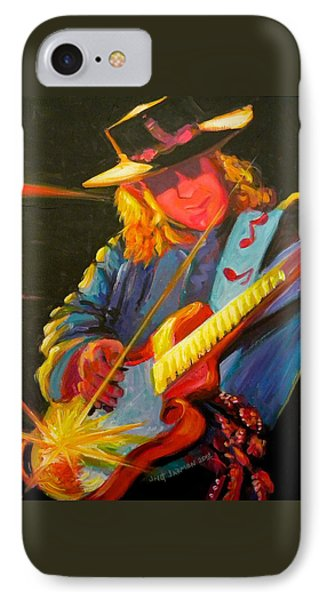 Stevie Ray Vaughn IPhone Case by Jeanette Jarmon