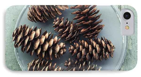 Stil Life With  Seven Pine Cones IPhone Case