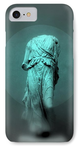 Still Life - Robed Figure IPhone Case by Kathleen Grace