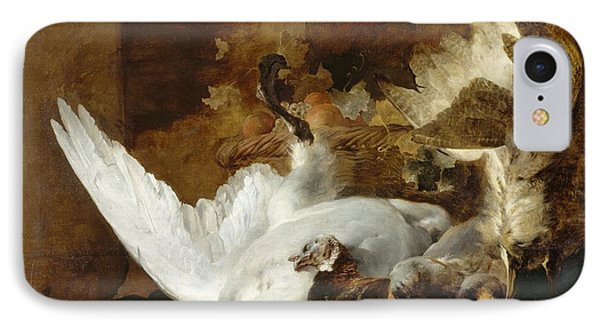 Still Life With A Dead Swan IPhone Case