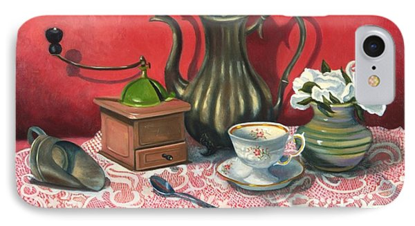 Still Life With Coffee Grinder  IPhone Case
