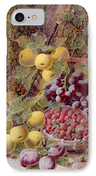 Still Life With Fruit Phone Case by Oliver Clare