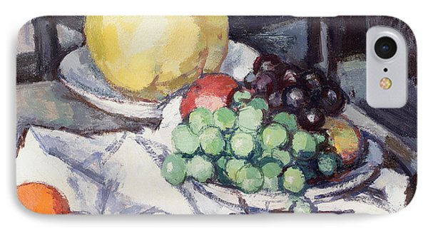 Still Life With Melons And Grapes Phone Case by Samuel John Peploe