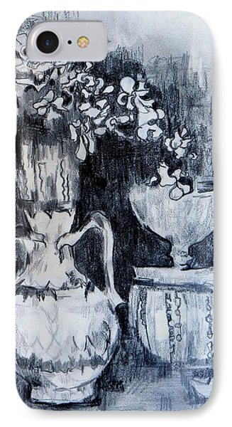 Still Life With Vases Phone Case by Jolante Hesse