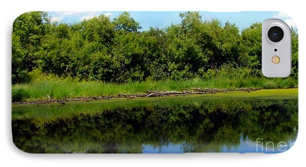 IPhone Case featuring the photograph Still Water by Jim Sauchyn