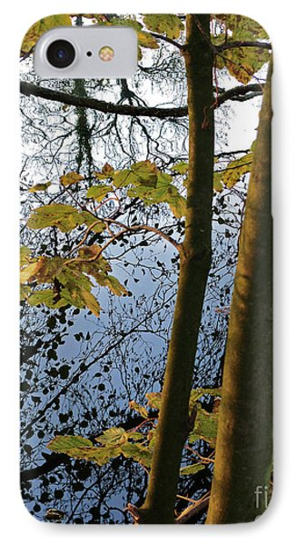 IPhone Case featuring the photograph Still Waters In The Fall by Andy Prendy