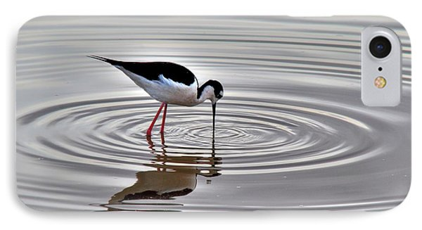 IPhone Case featuring the photograph Black-necked Stilt by Tam Ryan