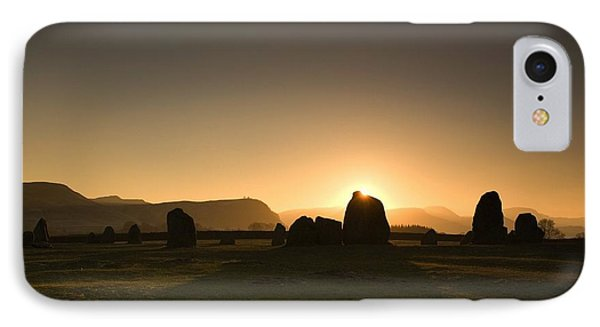 Stone Circle IPhone Case by John Short