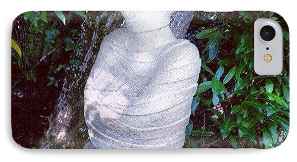 Stone Lady 1 IPhone Case by Natasha Futcher