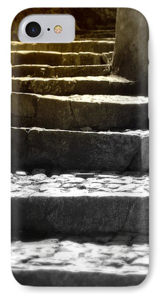 Stone Steps IPhone Case by Emanuel Tanjala