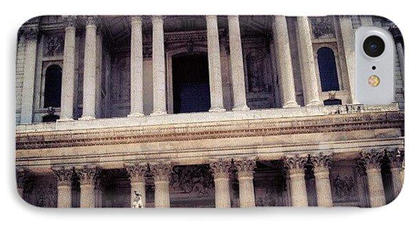 #stone #stonebuilding #victoria #square IPhone Case