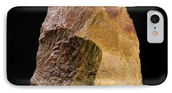Stone Tool, Sima De Los Huesos Phone Case by Javier Truebamsf