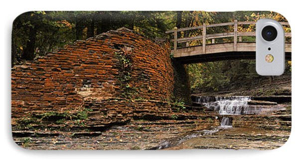 Stone Walls And Wooden Bridges Phone Case by Joshua House