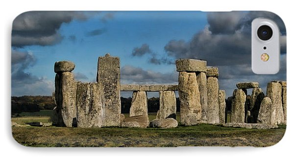 Stonehenge Phone Case by Heather Applegate