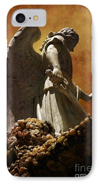 Stop In The Name Of God IPhone Case by Susanne Van Hulst