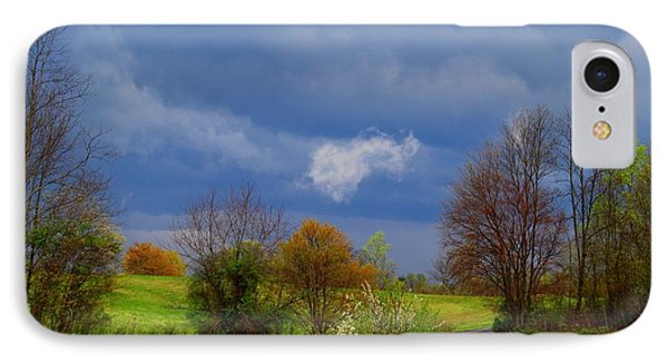 IPhone Case featuring the photograph Storm Cell by Kathryn Meyer
