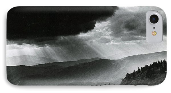 Storm Cloud Phone Case by Bruce Roberts and Photo Researchers