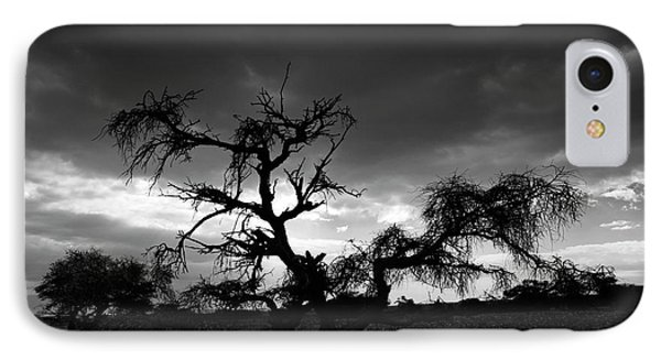 IPhone Case featuring the photograph Storm Clouds. by Arik Baltinester