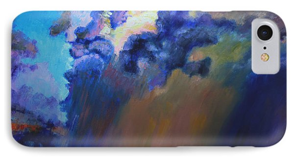 Storm Clouds Over Missouri Phone Case by John Lautermilch