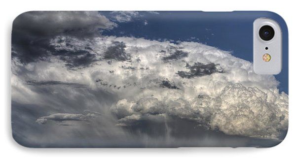 Storm Clouds Thunderhead Phone Case by Mark Duffy