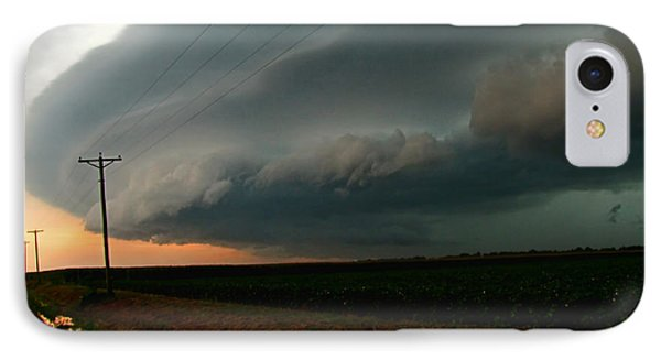 IPhone Case featuring the photograph Storm Front by Debbie Portwood