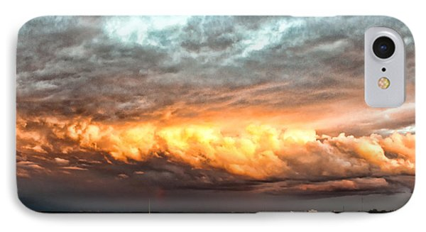 Storm Glow Phone Case by Christopher Holmes