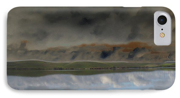 Storm On Land IPhone Case