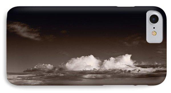 Storm Over Badlands Phone Case by Steve Gadomski
