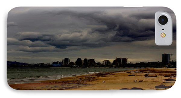 Storm Rolls In Phone Case by Heidi Smith