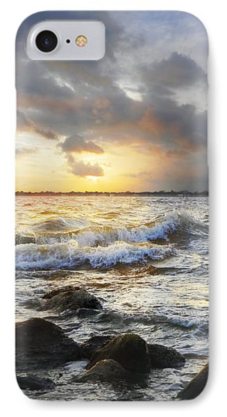 Storm Waves IPhone Case by Francesa Miller
