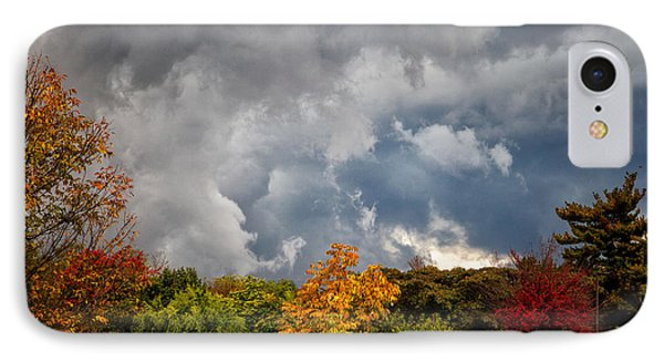 Storms Coming IPhone Case by Ronald Lutz